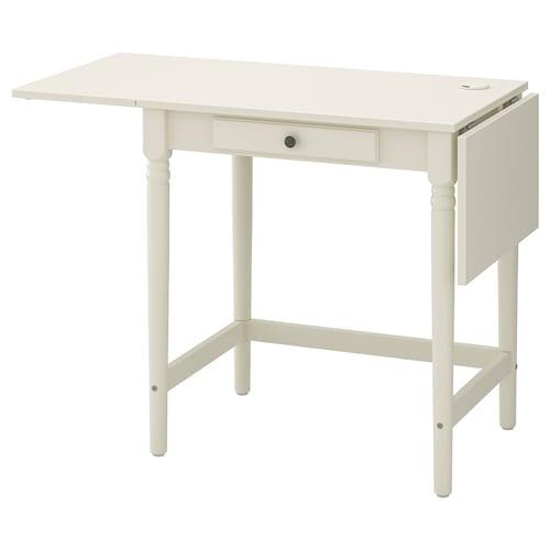英格托 书桌 白色 73 厘米 73 厘米 127 厘米 50 厘米 74 厘米