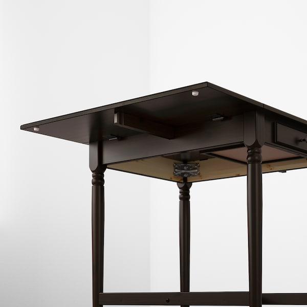 英格托 翻板桌 黑褐色 65 厘米 123 厘米 78 厘米 73 厘米
