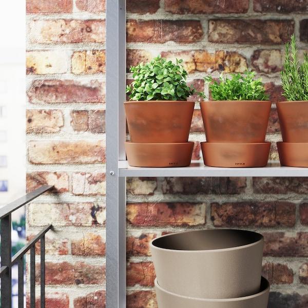 英格法拉 装饰用花盆和盆托 户外产品/赤陶 14 厘米 16 厘米 12 厘米 15 厘米