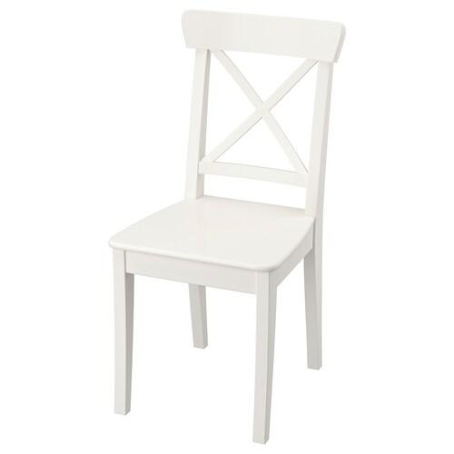 英格弗 椅子 白色 110 公斤 43 厘米 52 厘米 91 厘米 43 厘米 38 厘米 45 厘米