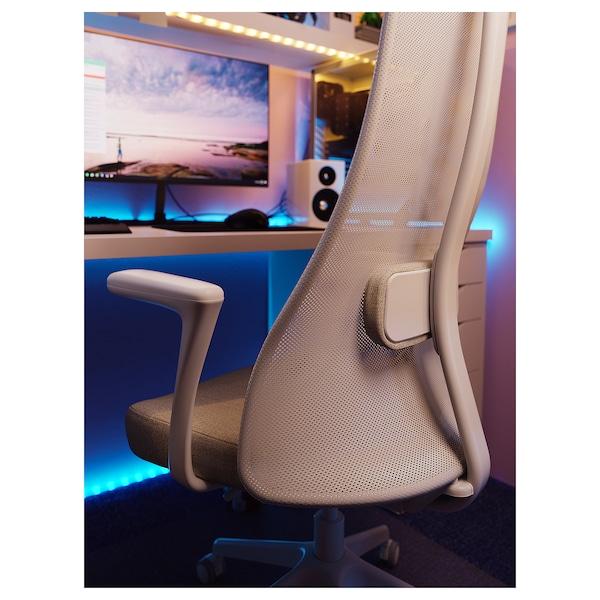 耶勒乌弗亚列特 带扶手办公椅 刚纳瑞德 米黄色/白色 110 公斤 68 厘米 68 厘米 140 厘米 52 厘米 46 厘米 45 厘米 56 厘米