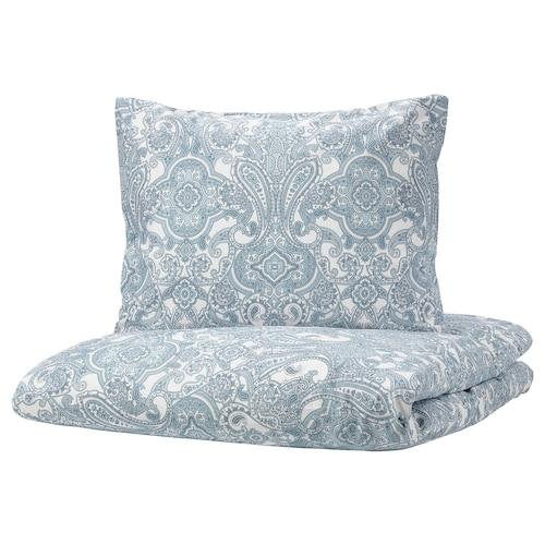 IKEA 叶德瓦尔莫 被套和2个枕套