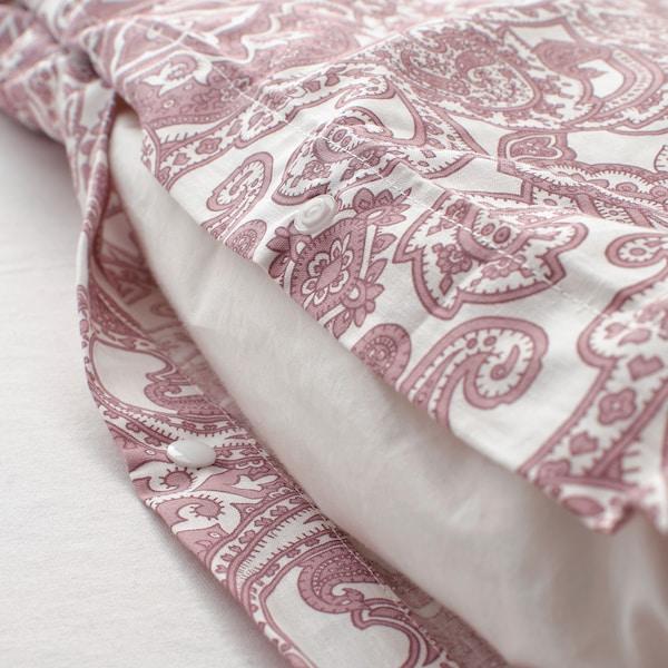 叶德瓦尔莫 被套和2个枕套 白色/深粉色 152 Inch² 2 件 230 厘米 200 厘米 50 厘米 80 厘米