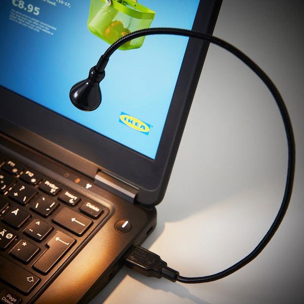 简索 LED灯,USB接口 黑色 10 流明