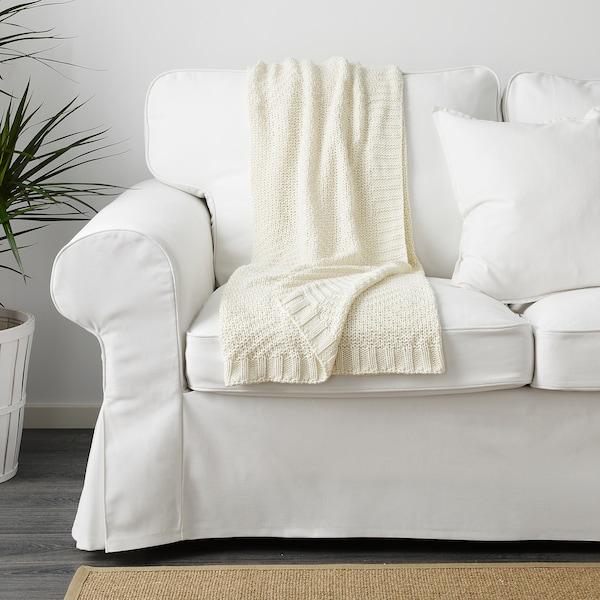 耶利安 休闲毯 白色 170 厘米 130 厘米 900 克