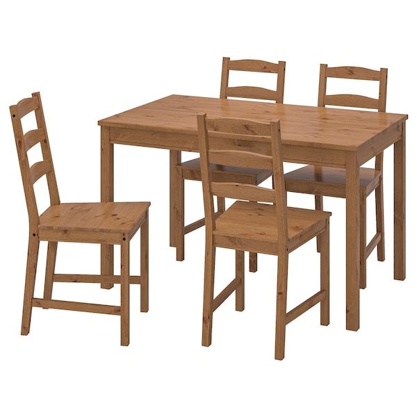 IKEA 约克马克 一桌四椅