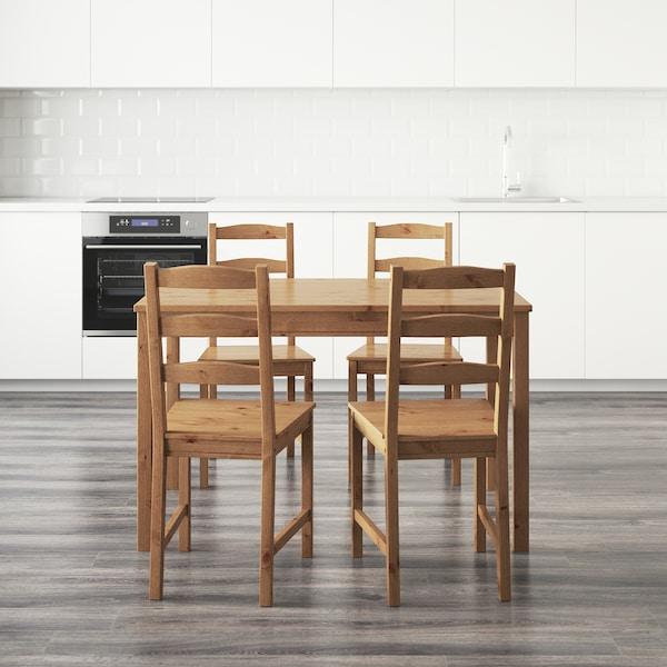 JOKKMOKK 约克马克 一桌四椅, 仿古色