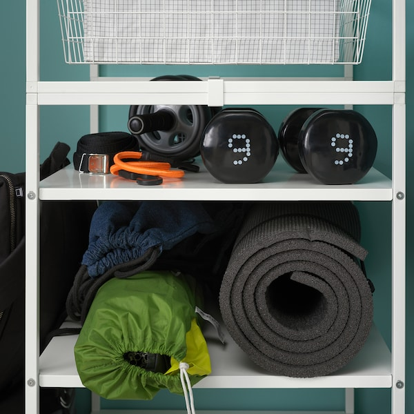 JONAXEL 尤纳赛尔 框架/篮/挂衣杆/搁架单元, 198x51x173 厘米