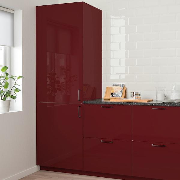 卡勒普 柜门 高光 深红褐色 39.7 厘米 140.0 厘米 40.0 厘米 139.7 厘米 1.7 厘米