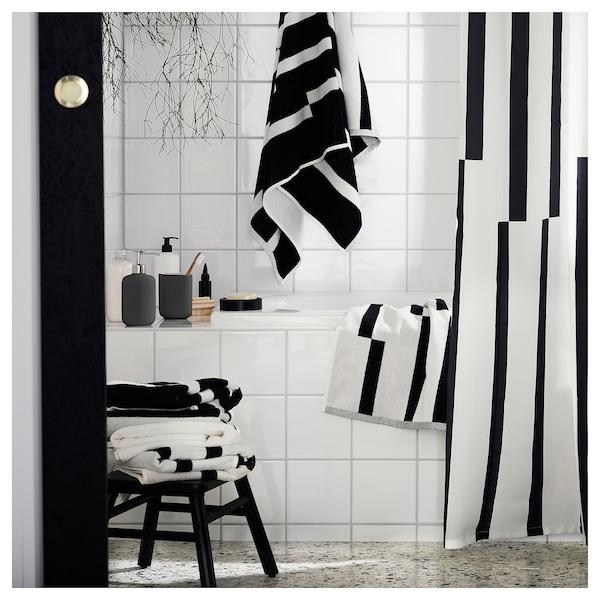 肯能 毛巾 黑色/白色 70 厘米 40 厘米 0.28 平方米 500 克/平方米