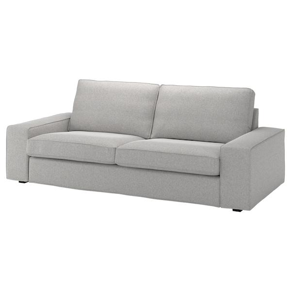 奇维 三人沙发套 塔米拉 白色/黑色