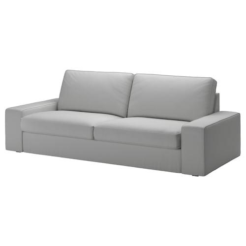 奇维 三人沙发 欧斯塔 淡灰色 228 厘米 95 厘米 83 厘米 180 厘米 60 厘米 45 厘米