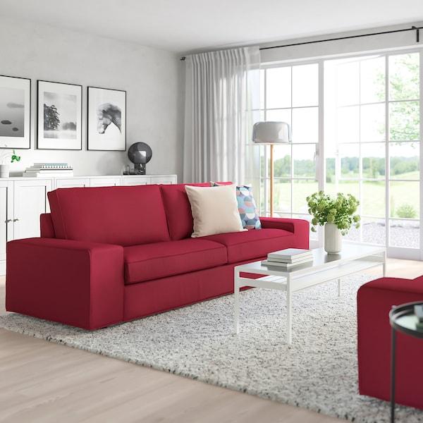 奇维 三人沙发 欧斯塔 红色 228 厘米 95 厘米 83 厘米 180 厘米 60 厘米 45 厘米
