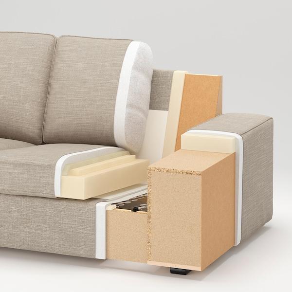 奇维 双人沙发 欧斯塔 淡灰色 190 厘米 95 厘米 83 厘米 140 厘米 60 厘米 45 厘米