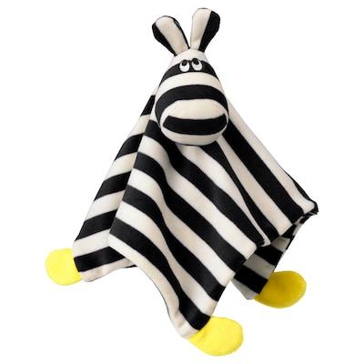 KLAPPA 克拉帕 方巾带毛绒玩具, 29x29 厘米