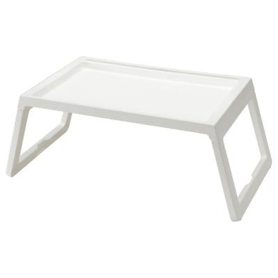 KLIPSK 克丽普克 床用餐架, 白色