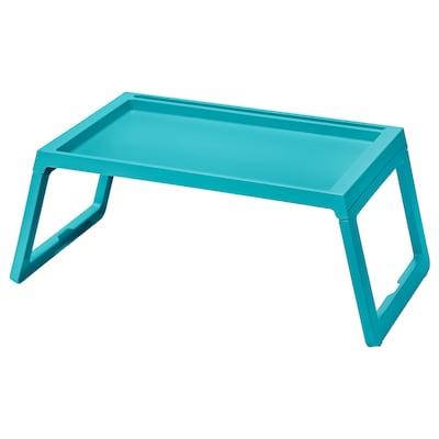 KLIPSK 克丽普克 床用餐架, 天蓝色