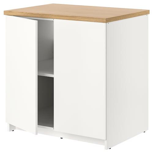 诺克胡 底柜和柜门 白色 82 厘米 80 厘米 61 厘米 85 厘米