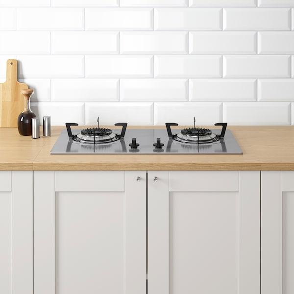 KNOXHULT 诺克胡 厨房, 灰色, 204x61x220 厘米