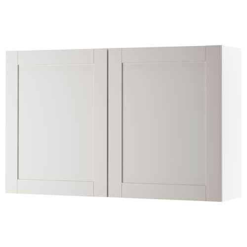 诺克胡 壁柜,带门 灰色 120.0 厘米 31.0 厘米 75.0 厘米