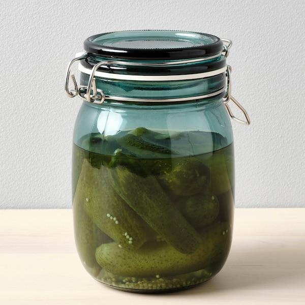 考肯 附盖罐 绿色 16.5 厘米 12 厘米 1 公升