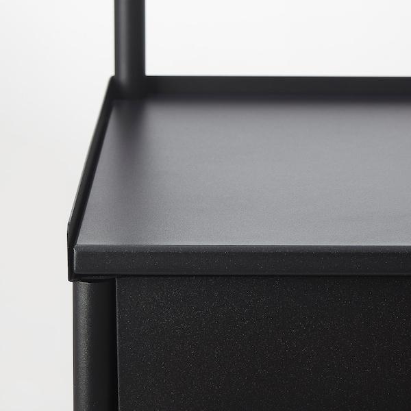 康恩索 镜柜 黑色 70 厘米 47 厘米 187 厘米