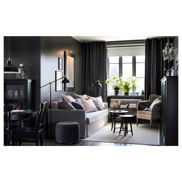 克拉思塔 套桌,2件套 黑色