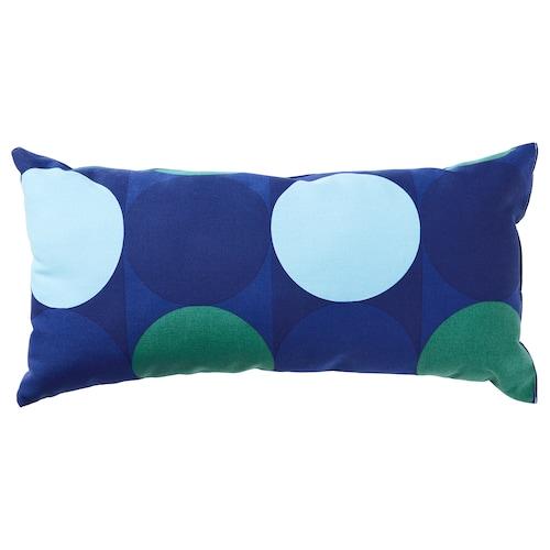 克洛库斯利亚 靠垫 蓝色/绿色 30 厘米 60 厘米 280 克 360 克