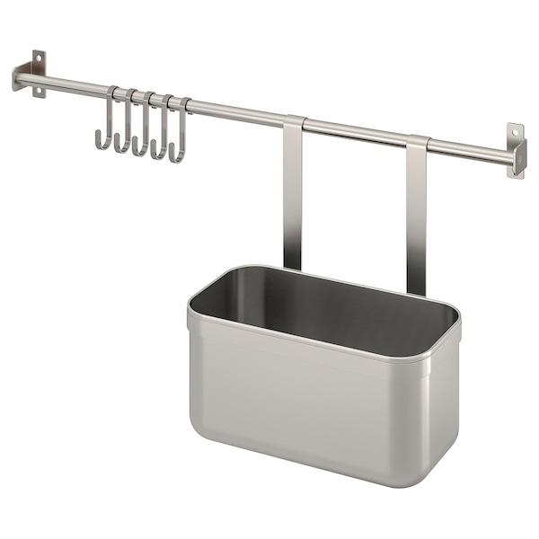 康福斯 5钩挂杆/1容器 不锈钢 56 厘米