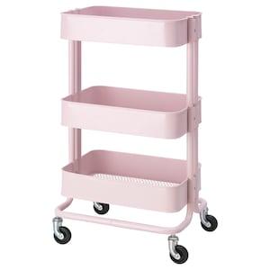 颜色: 淡粉红色.
