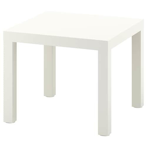 拉克 边桌 白色 55 厘米 55 厘米 45 厘米 25 公斤