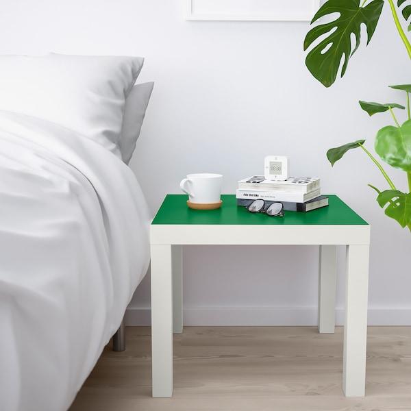 拉克 边桌 白色/绿色 55 厘米 55 厘米 45 厘米 25 公斤