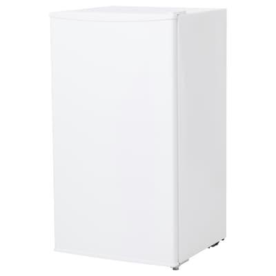 LAGAN 拉根 带冷冻室冰箱, 白色, 93 公升