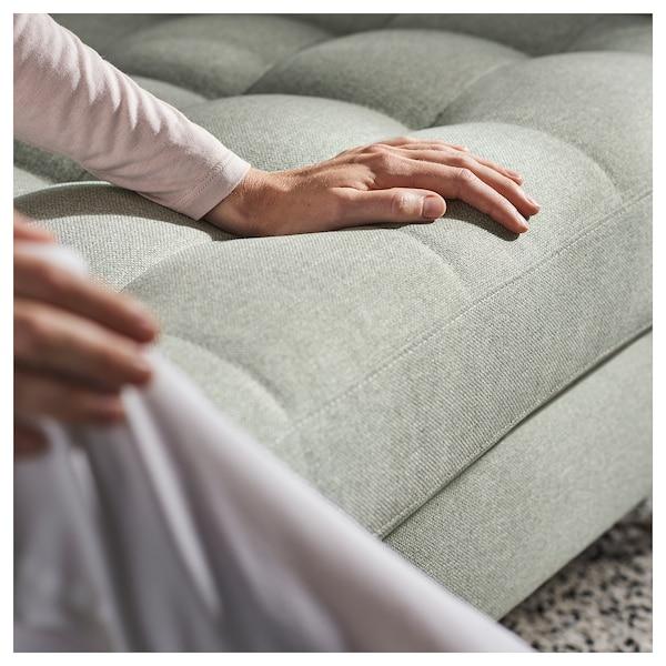 兰德克纳 三人沙发 带贵妃椅/刚纳瑞德 浅绿/金属 242 厘米 78 厘米 158 厘米 64 厘米