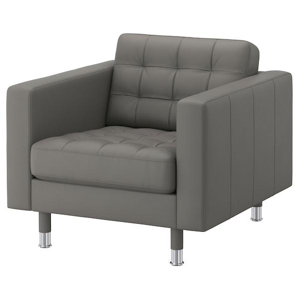 兰德克纳 单人沙发/扶手椅 哥兰/邦斯塔 灰绿/金属 89 厘米 89 厘米 78 厘米 65 厘米 61 厘米 44 厘米