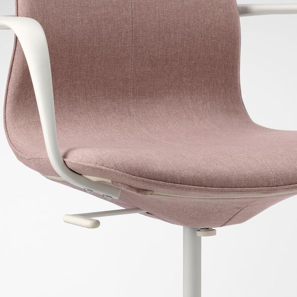 隆菲尔 会议椅 刚纳瑞德 浅褐粉/白色 110 公斤 67 厘米 67 厘米 92 厘米 53 厘米 41 厘米 43 厘米 53 厘米