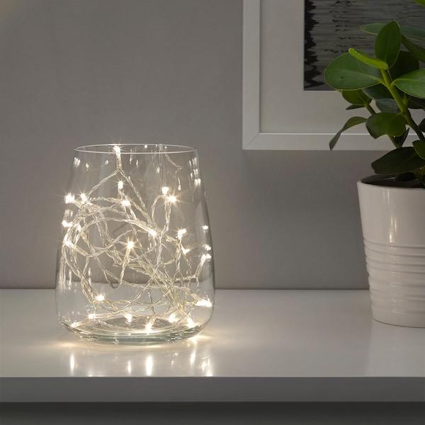 拉德夫尔 LED灯串24头 室内 银色 1.5 米 15 厘米 1.6 瓦特 5 米