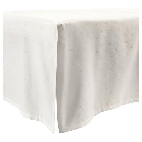 雷纳斯特 婴儿床床摆 带有圆点/白色 120 厘米 60 厘米