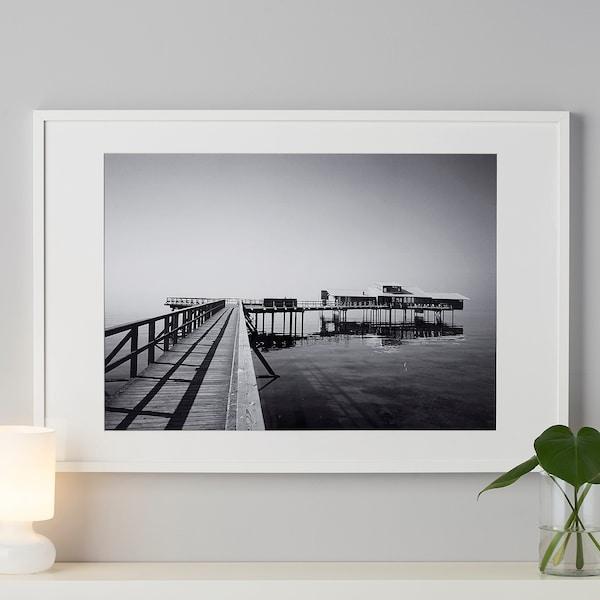 丽巴 画框, 白色, 61x91 厘米