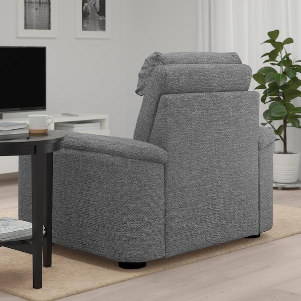 利胡特 单人沙发/扶手椅, 雷德 灰色/黑色