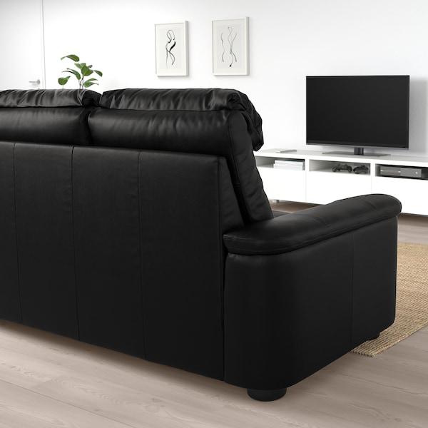 利胡特 三人沙发, 哥兰/邦斯塔 黑色