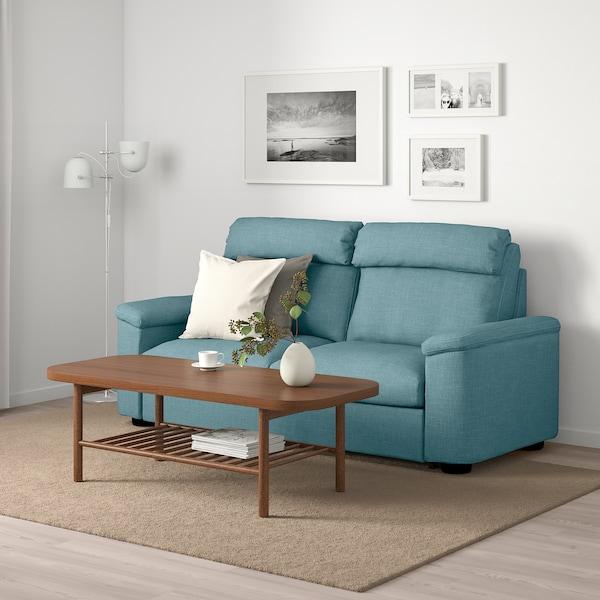 利胡特 双人沙发床, 加瑟博尔 蓝色/灰色