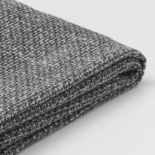 利胡特 双人座沙发套, 雷德 灰色/黑色