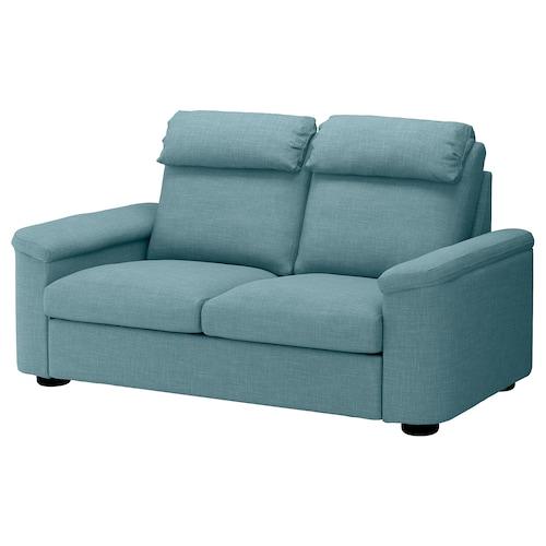 利胡特 双人沙发床 加瑟博尔 蓝色/灰色 102 厘米 76 厘米 208 厘米 98 厘米 7 厘米 53 厘米 45 厘米 140 厘米 200 厘米