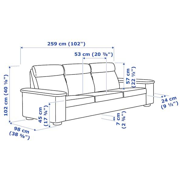 IKEA 利胡特 三人沙发