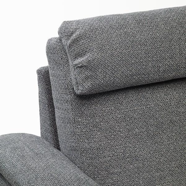 利胡特 三人沙发 雷德 灰色/黑色 102 厘米 76 厘米 259 厘米 98 厘米 7 厘米 211 厘米 53 厘米 45 厘米