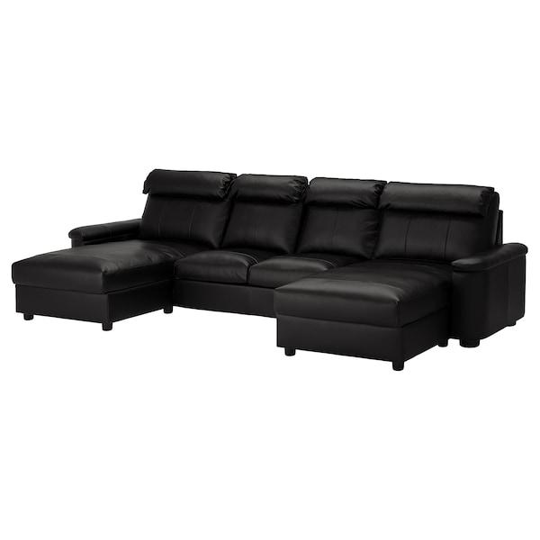 利胡特 四人沙发 带贵妃椅/哥兰/邦斯塔 黑色 102 厘米 76 厘米 164 厘米 369 厘米 98 厘米 120 厘米 7 厘米 321 厘米 53 厘米 45 厘米