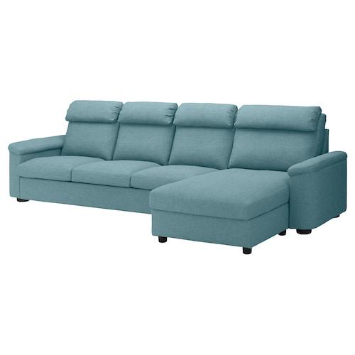 利胡特 四人沙发 带贵妃椅/加瑟博尔 蓝色/灰色 102 厘米 74 厘米 164 厘米 349 厘米 98 厘米 128 厘米 7 厘米 301 厘米 53 厘米 45 厘米