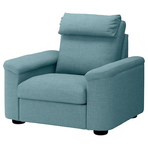 利胡特 单人沙发/扶手椅 加瑟博尔 蓝色/灰色 102 厘米 76 厘米 119 厘米 98 厘米 7 厘米 71 厘米 53 厘米 45 厘米