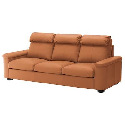 LIDHULT 利胡特 三人沙发, 哥兰/邦斯塔 金棕色